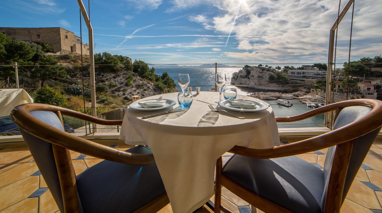 Restaurants Marseille Vue Mer