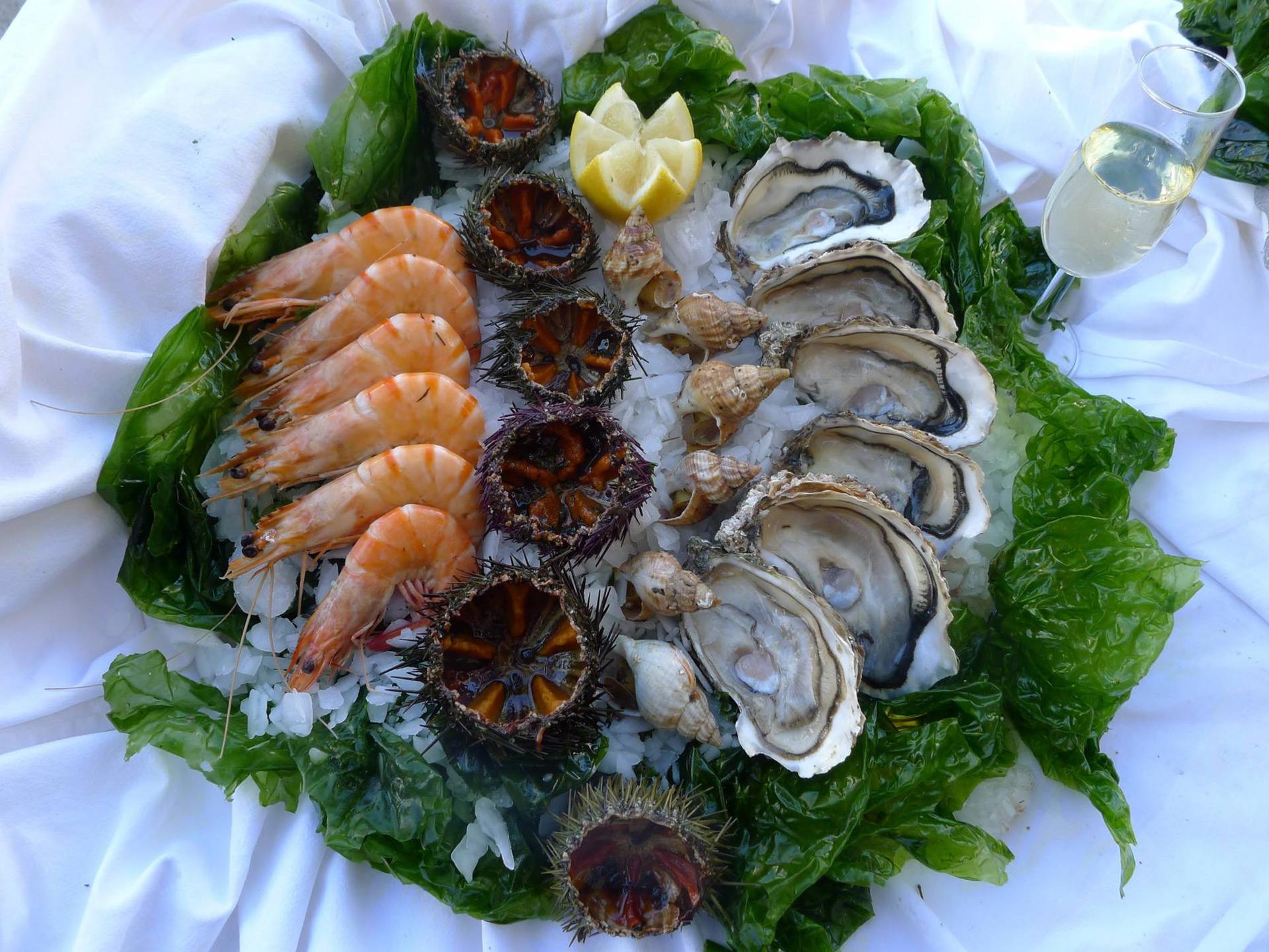 O manger les meilleurs coquillages marseille restaurants port et bord de mer marseille for Les meilleurs cuisinistes italiens