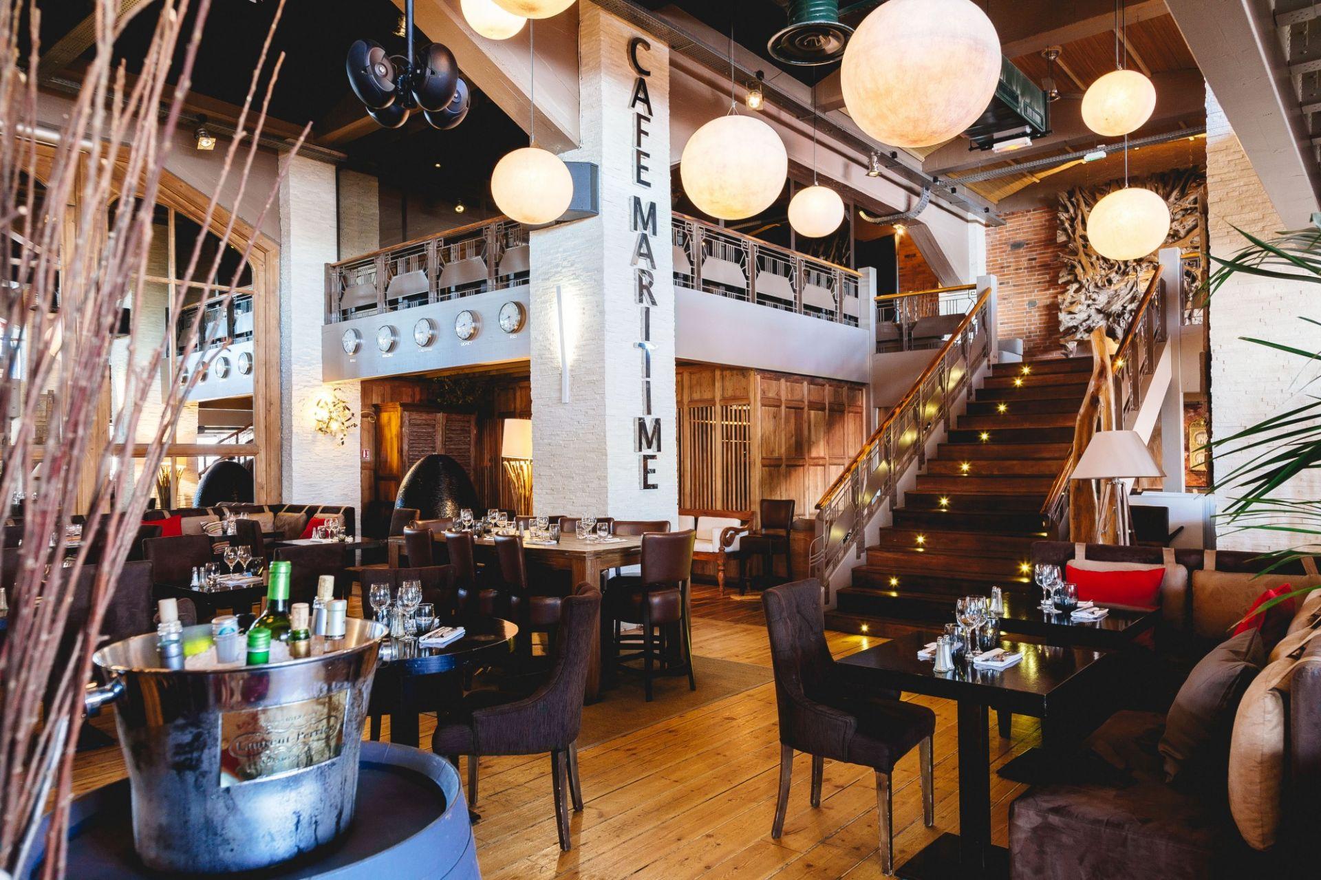 Le caf maritime restaurant cosy bordeaux et lacanau restaurants port et bord de mer marseille - Restaurant le garage bordeaux ...